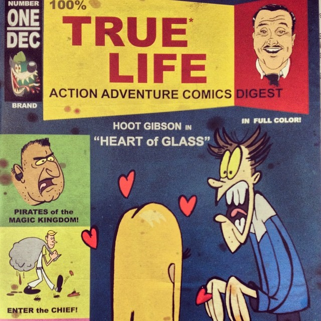 #100% #True #Life #Action #Adventure #Comics #Digest #WDW #WaltDisney #mickeyMouse #UncleReamus #truestory #reallife http://warddizzley.com