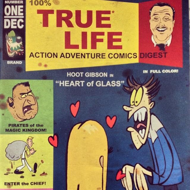 #100% #True #Life #Action #Adventure #Comics #Digest #WDW #WaltDisney #mickeyMouse #UncleReamus #truestory #reallife http://warddizzley.com