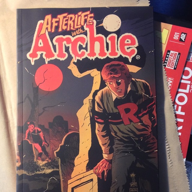 Riverdale is back on the map. So far, a fun read! #Archie #Comics #comicbook