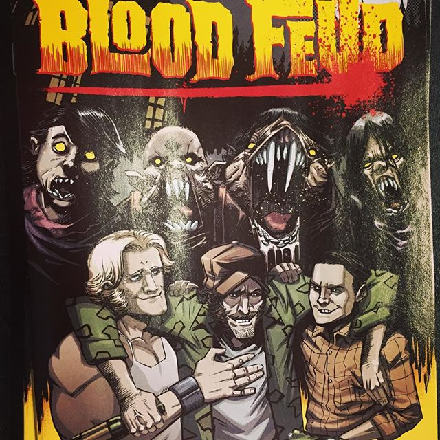 One of the best comics I read last week! @cullenbunn's Blood Feud! Story and Art were top notch! Available at Ashtabula County's *ONLY* Comic Shop #RobotZero! @onipress #comics #ComicArt #comicBooks #bloodfeud #frightnight #ArmyofDarkness #80s #fun #ashtabula #ashtabulacounty