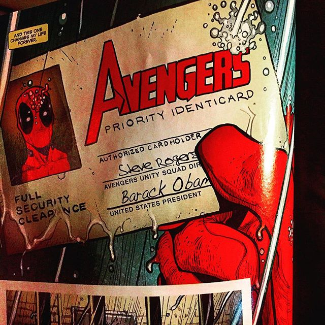Deadpool officially becomes an Avenger in Avengers 0. Get it at Ashtabula County's *ONLY* comic shop Robot Zero! #robotzero #deadpool #MarvelComics  #ashtabulacounty #comics #ashtabula #ComicArt #Comics