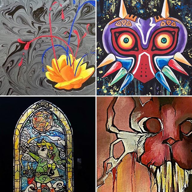 Small Business. Saturday Art show at #RobotZero in Geneva, Ohio! Local Artists! Chris Raab, Tessa LeBaron, Thomas Kundrat, and Summer Rae Binns, Saturday, November 28th 5pm-9pm! #artshow #ashtabula #genevaohio