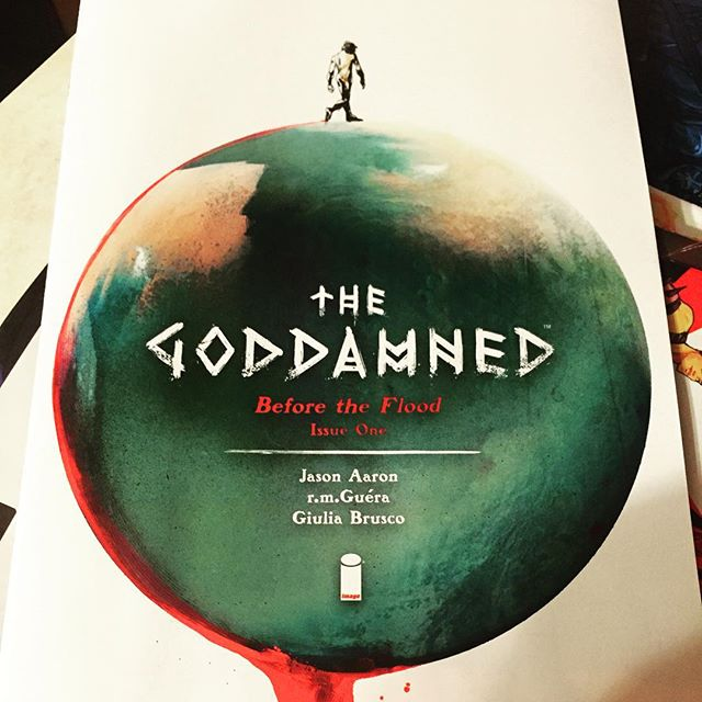 Jason Aaron cannot be stopped! Pick up @imagecomics title #Goddamned tomorrow at #AshtabulaCounty's only comic shop #RobotZero! #GenevaOhio #Ashtabula #Comics #JasonAaron #comicbooks