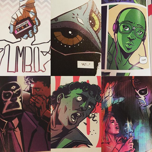 Pick up Limbo #1 from @imagecomics at #RobotZero #AshtabulaCounty's *ONLY* comic shop! #hitops #koolandthegang #luchadore #TheThumb #Dedande #Ashtabula #comicart #comics #comicbooks #GenevaOhio