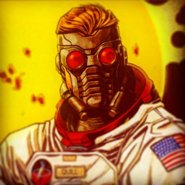 With his burning desire for vengeance, his expert spacecraft knowhow, and his distinct lack of scruples, odds are he won't be on Earth much longer.  #StarLord #GOTG #guardiansofthegalaxy #guardians #marvelcomics #marvel #comicart #ashtabula #ashtabulacounty #robotzero #genevaohio #conneaut #conneautohio #bula #astronaut #comics #comicbooks #comicbook #yondu #chitauri #avengers #ohio #neohio #neohiostrong #neohioartists