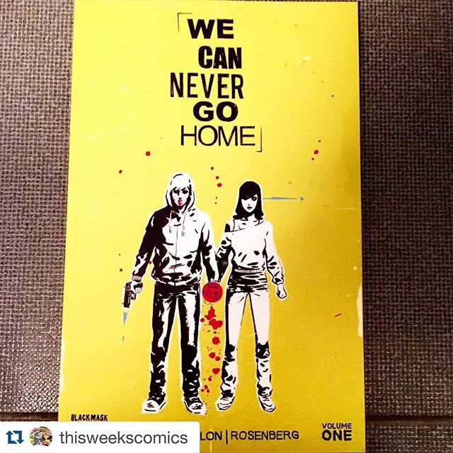 Available at Robot Zero Comics in #GenevaOhio #BlackMask's We Can Never Go Home! #Mixtape #80s #SuperPowers #BadDeal #WeCanNeverGoHome #Ashtabula #ashtabulacounty #bula #superhero #repost @thisweekscomics