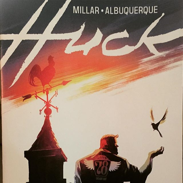 Millar's take on Superman is better than #Superman. The art is warm and the colors match the emotion of the book! The feel good book of #2015. #AllTheFeels #Ashtabula #AshtabulaCounty #GenevaOhio #Bula #MillarWorld #ImageComics #Huck #Special #comics #comicart #ComicBooks #SuperHero #MarvelComics #DCComics #DCyou