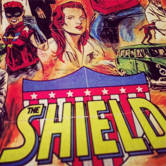 #TheShield by #chuckwendig and #adamchristopher. Pick it up now! #Write now, one of the BEST! #comics #ComicBooks #Ashtabula #ashtabulacounty #genevaOhio @darkcirclecomics #cle #cleveland #clevelandgram #CLEGram #instacomics #instaOhio