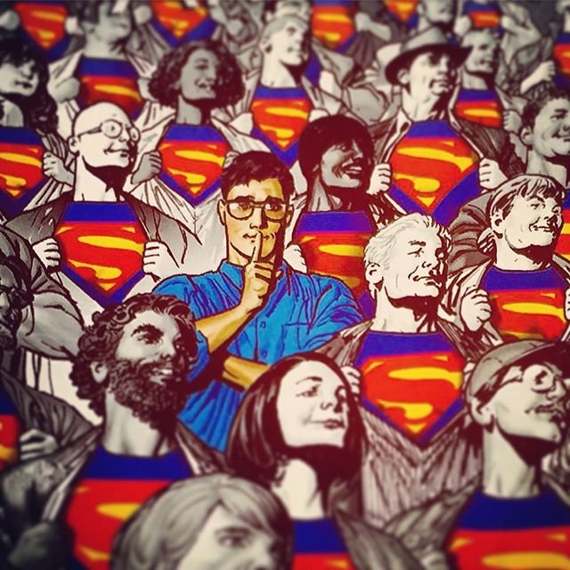 We are #Superman! #DCU #DCYou #GeneralZod #ActionComics #DCComics #ComicArt #ComicBooks #Comics #Brainiac #JLA #JusticeLeague #HallOfJustice #SuperMen #americanAlien #ManOfSteel #FasterThanASpeedingBullet  #UPThereInTheSky #ClarkKent #JimmyOlsen #LoisLane #LanaLane #SuperBoy #Batman #BvS #LexLuthor