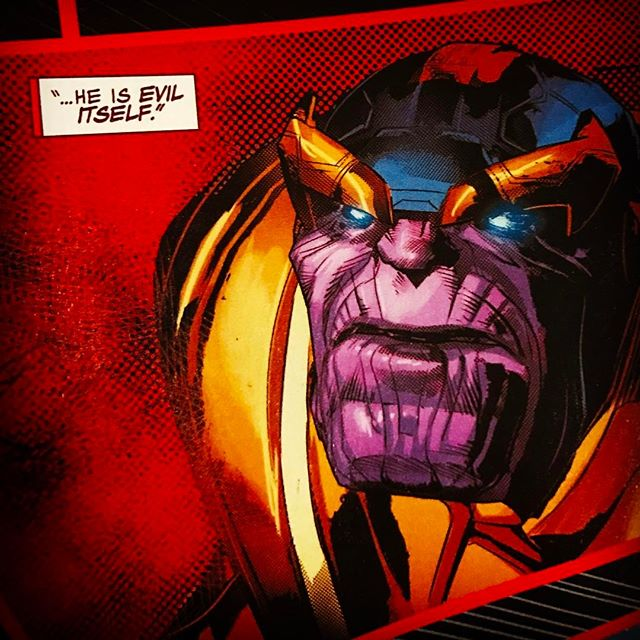 Issue #3 of #Thanos is on shelves this week! The #MadTitan lays a beat down on the imperial guard, who will win? Another amazing issue by creators @jefflemire & @mikedeodato. #Shiar #skrull #spartax #kree #marvelcomics #comicbookart #comicbooks #comicbook #comicart #comics #death #infinitygauntlet #infinitystones #ashtabula #genevaohio #ashtabulacounty #instacomics #marvel #blackhammer #oldmanlogan #moonknight #barbalien #warlordofmars