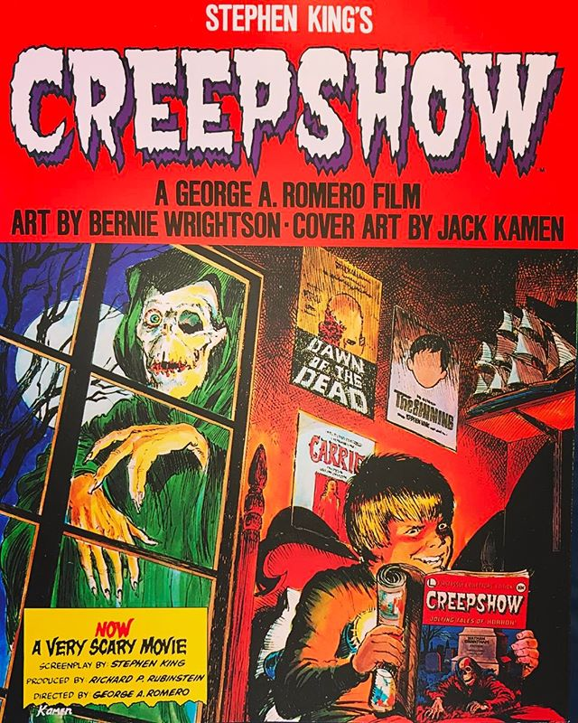 On sale this week! #StephenKing #BernieWrightson #CREEPSHOW #horror #scary #muchscare #veryspooky #movie #georgeRomero