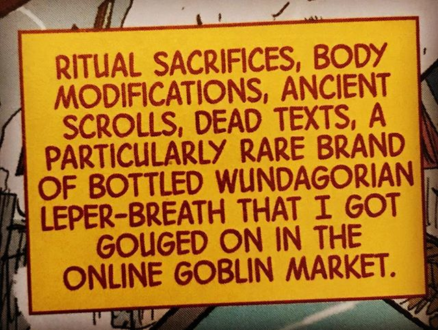 Donny Cates? Should be Donny Quotes! Great line, I've really enjoyed #Damnation so far! #Tarnation #OnlineGoblinMarket #Wundagorian #makeminemarvel #MarvelComics #comicbooks #DoctorStrange  #PullList #Quotes #instacomics #comicbook #comics #comicshop #comicstore @dcates @spacecadetscollection