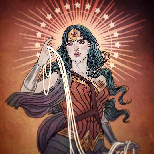 @jennyfrisonart's #WonderWoman variants have been heavenly! #comicart #comicbooks #comicbook #comics #DCComics #LassoOfTruth #dianaofthemyscira #themyscira #invisiblejet #igcomicfamily #DC