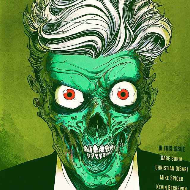 House of Waxwork #1 Horror Anthology from @waxworkcomics. Robot Zero always has something for that horror fix. #horrror #horrorcomics #comicart #comics #comicbook #comicbooks #instacomics #waxwork #igcomicfamily #independentComics #indycomics #comic